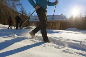 Snow shoe tour in Ulten