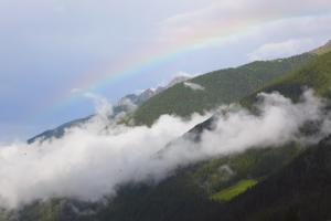 Arcobaleno in Val d'Ultimo