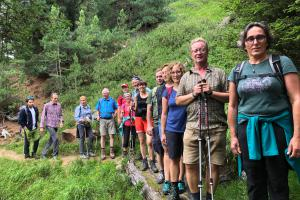 Hiking in the Ulten Valley