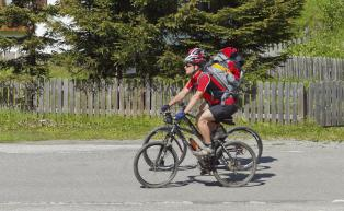 Mountainbike-Tour durch das Ultental