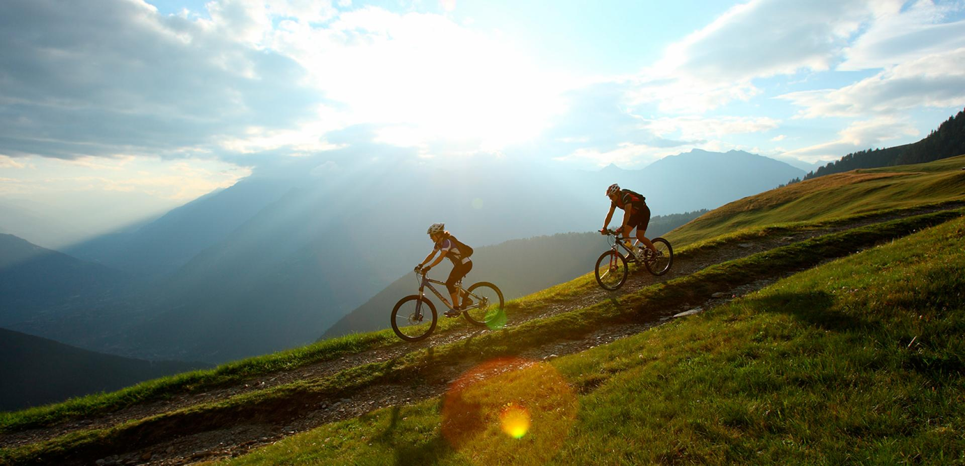 Con la mountainbike in Alto Adige