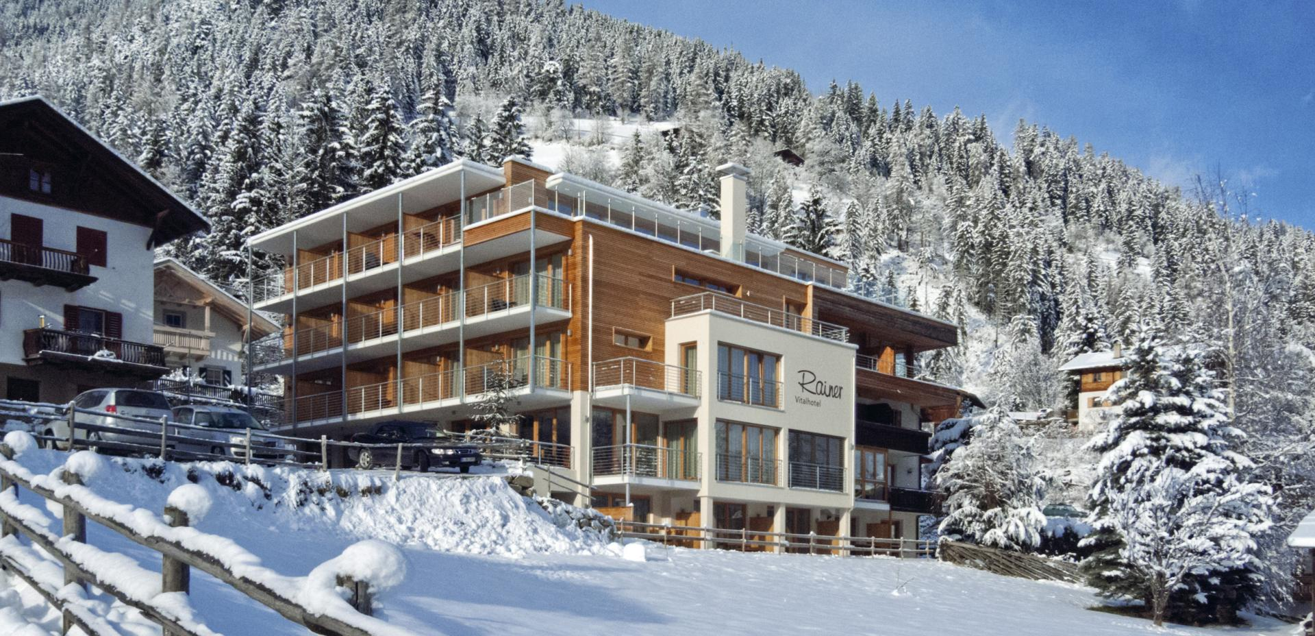 Hotel Rainer im Winter
