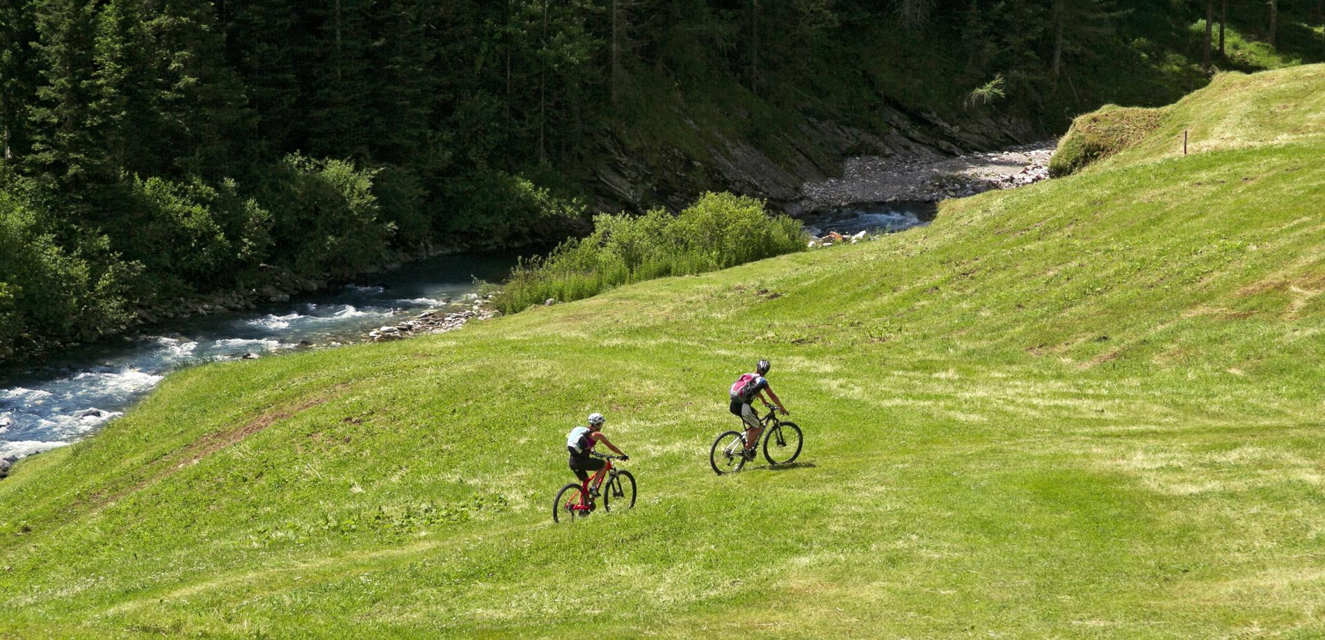 Mountainbike-Tour im Ultental, Südtirol