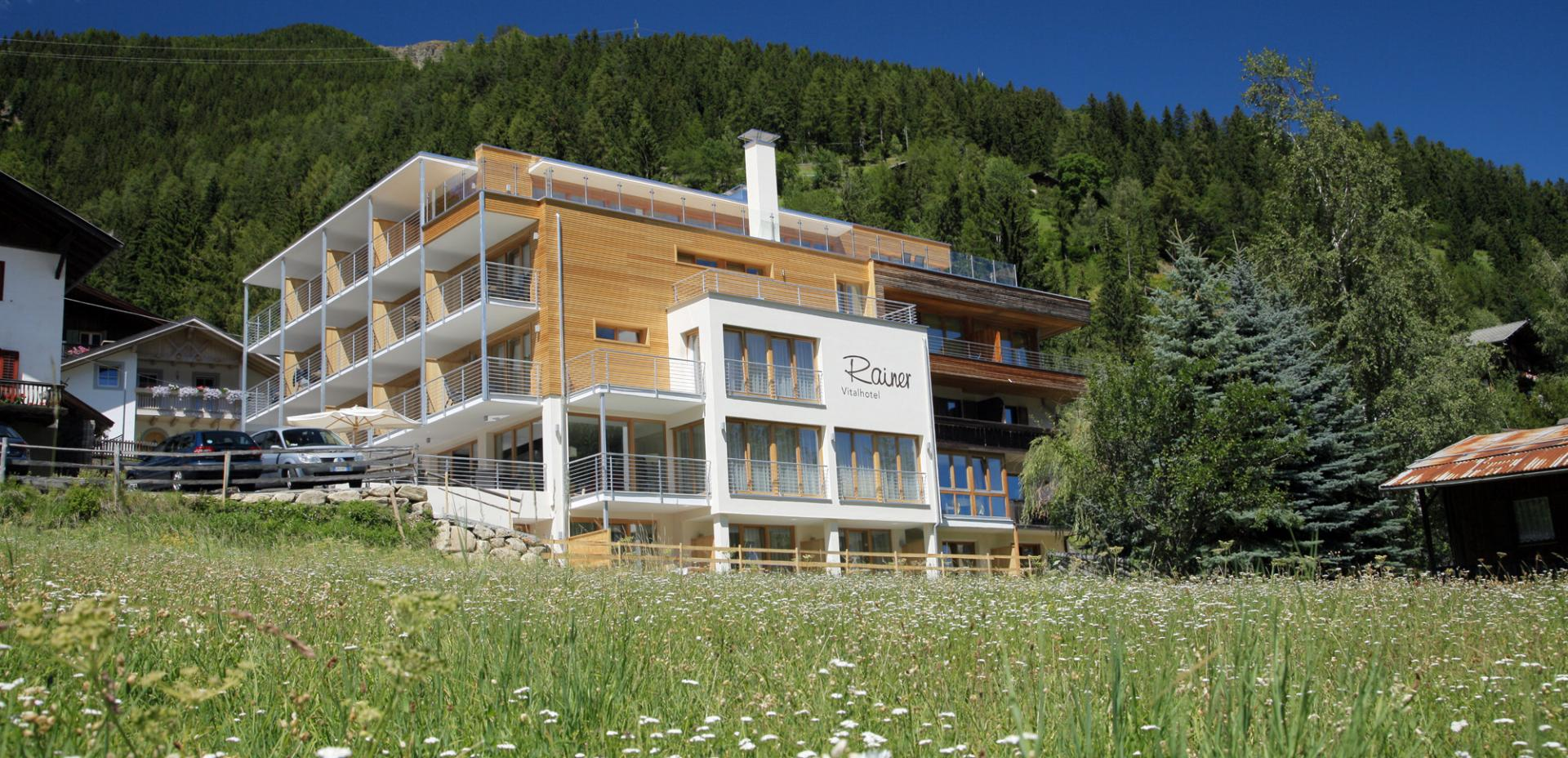 Vital-Hotel Rainer in Val d'Ultimo